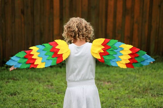 Custom Dress Up Halloween Children's Bird Wings by hugawillowtree