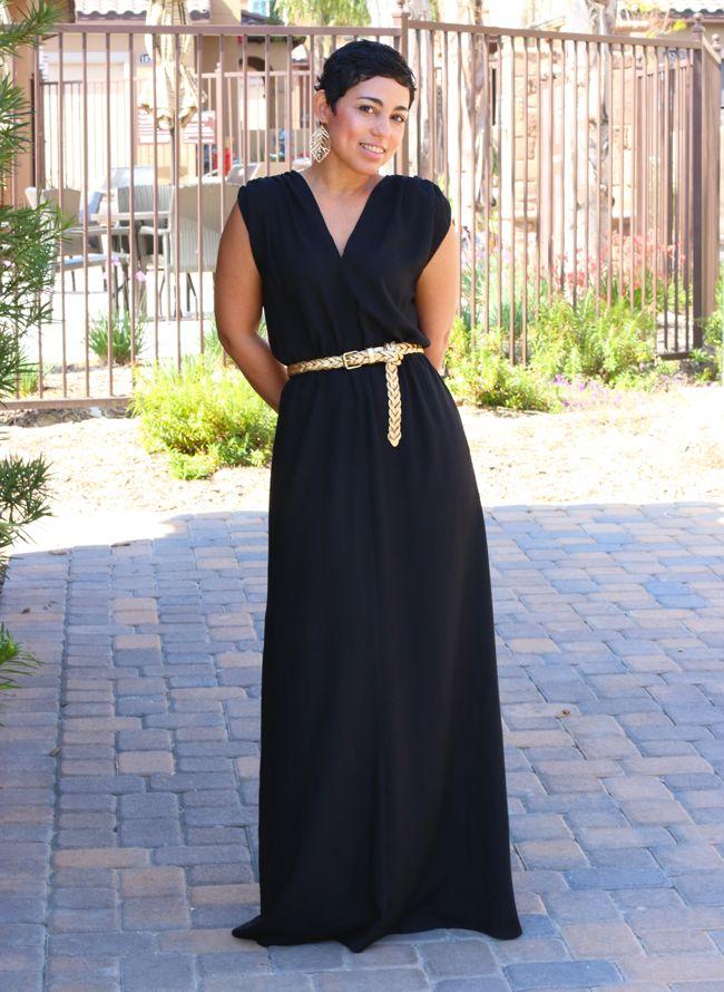 Easy maxi dress pattern free