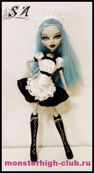 Dress for Monster High. Tutorial.