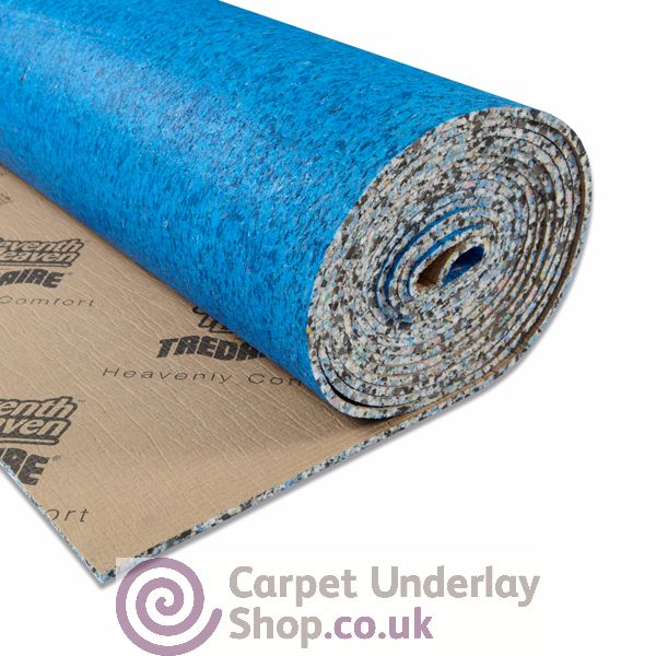 Tredaire Dreamwalk is the best selling 11mm carpet underlay from the Seventh Heaven range of foam carpet underlays.