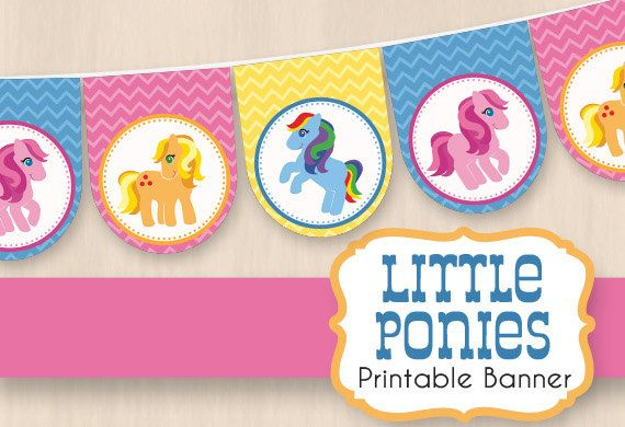 17 Best Images About My Little Pony Party On Pinterest