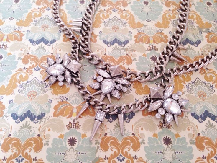 Raven Double-Chained Necklace from Wanderlust Collection