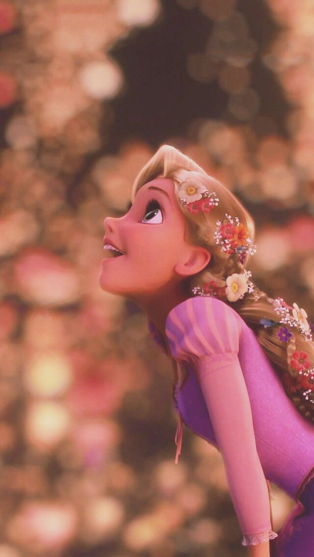 This is seriously how my daughter looks at everything. Rapunzel Tangled Awestriking
