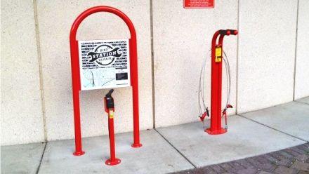 Public bike repair - public bike pump