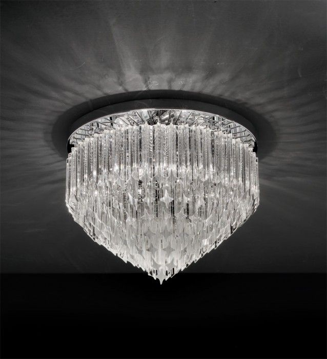 Murano Ceiling Lamps - Series Quadriedri
