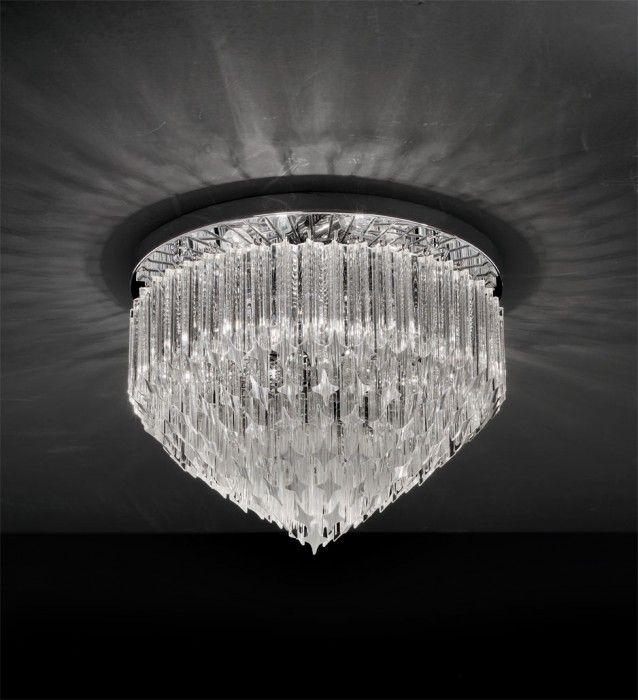 Murano Ceiling Lamps - Series Quadriedri