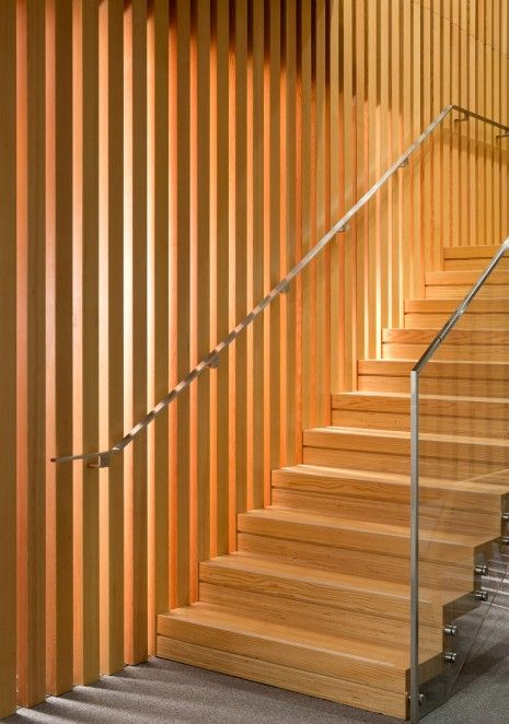 Best Interfor Wood Stair Mga Michael Green Architecture Photo By Ema Peter Stair Design Wood 640 x 480