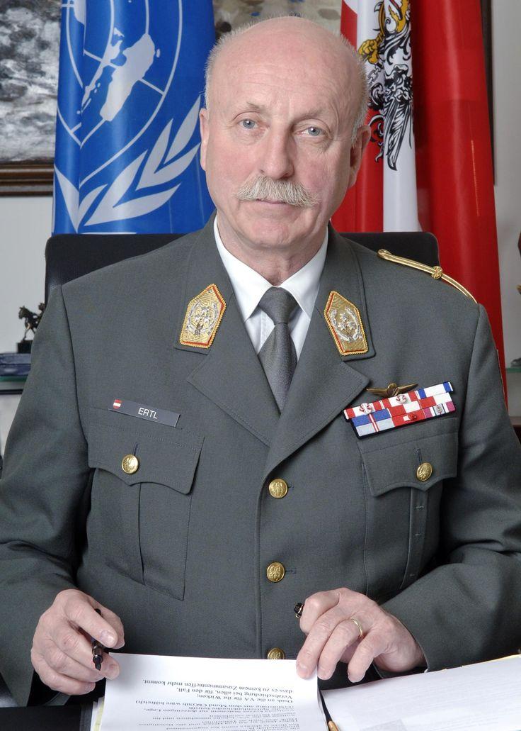 austrian armed forces | General Roland Ertl served in the Austrian Armed Forces for 41 years ...