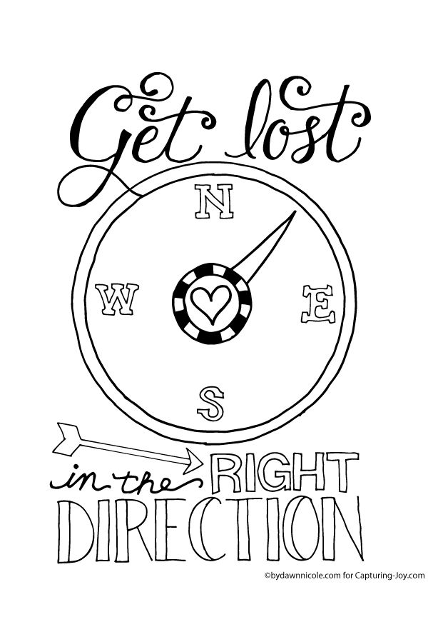 Get Lost in the Right Direction