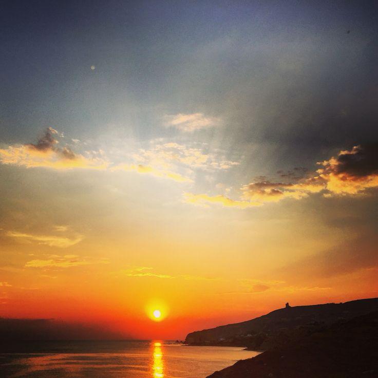 #sicily #sunset #summer #northafrica