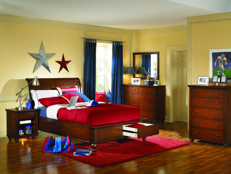 cambridge cherry full bedroom set icbchyset bedroom sets from aspen at