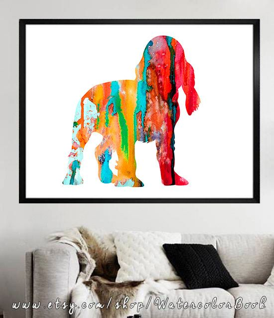 English Cocker Spaniel 3 Watercolor Children's by WatercolorBook