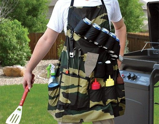 Grill Sergeant BBQ Apron-  Get your grill on, summer is here! Make sure you are prepared with the grill sergeant bbq apron! http://shopfor20.com/product/grill-sergeant-bbq-apron/