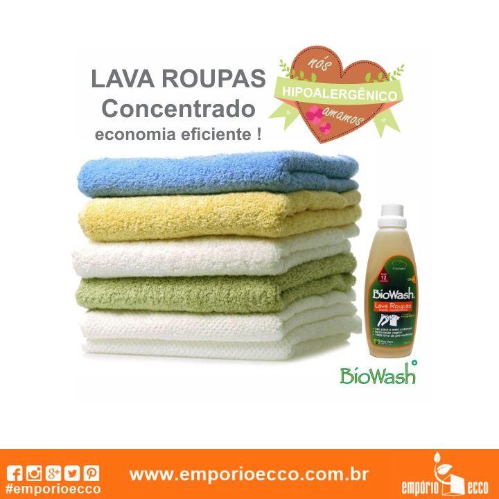 O Lava-Roupas Líquido Natural Citrus BioWash é um produto de limpeza natural e biodegradável que ajuda a preservar o planeta. ✅ Biodegradável; ✅ Hipoalergênico – não causa alergia e irritações na pele; ✅ Natural; ✅ Vegano. Compre online e receba em casa!   Acesse: https://www.emporioecco.com.br/biowash
