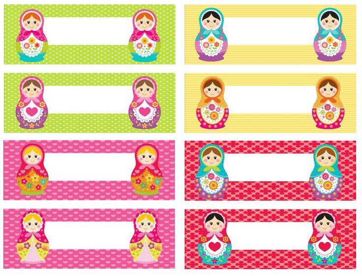 https://www.teacherspayteachers.com/Product/Matryoshka-Russian-Doll-Nametag-Labels-817581