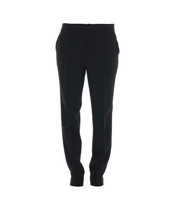 BOUTIQUE MOSCHINO BOUTIQUE MOSCHINO WOMEN'S  BLACK ACETATE PANTS. #boutiquemoschino #cloth #