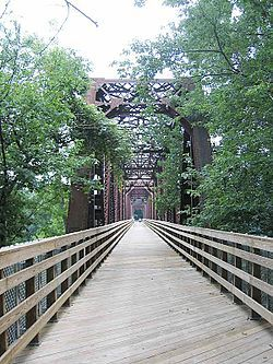 Canalside Rail Trail, Turners Falls area, Massachusetts