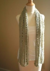 Found on handmadebyannepotterwordpresscom Summer Scarves Knit Crochet