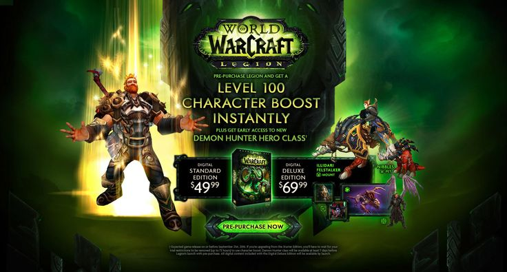 World of Warcraft Demon Hunter Legion Some of the best World of Warcraft Weapons