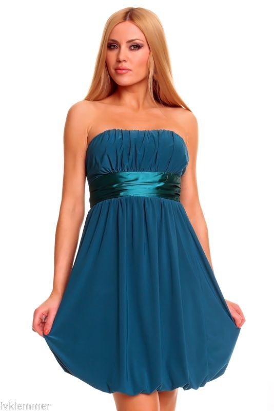 Kleider in petrol blau