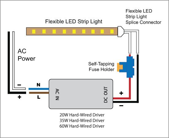 Ac Wiring Diagram 12v Led Lights - Electrical Drawing Wiring Diagram •