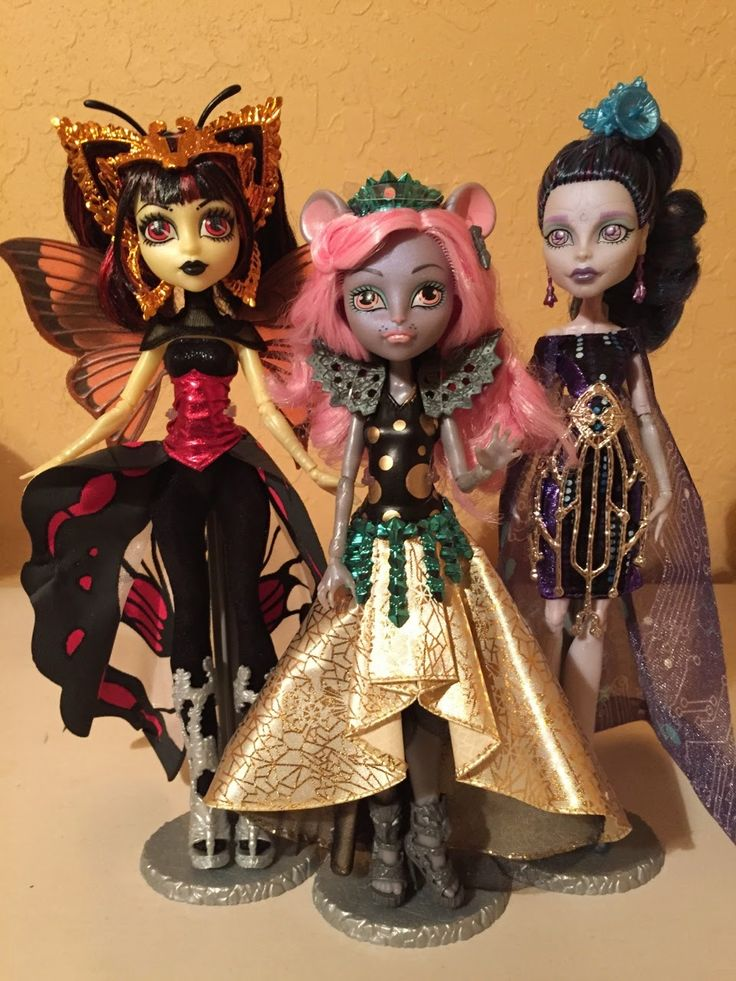 All about Monster High: Monster High Boo York Boo York - Gala Ghoulfriends...