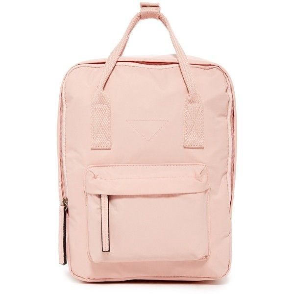62924ed6228 Madden Girl Mini Backpack ($30) ❤ liked on Polyvore featuring bags,  backpacks, peach pink, rucksack bag, madden girl backpack, pink backpack,  backpack bags ...