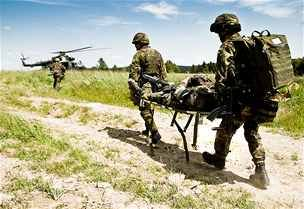 Čeští vojáci se připravují na misi v afghánském Lógaru. Na Libavé zkoušejí
