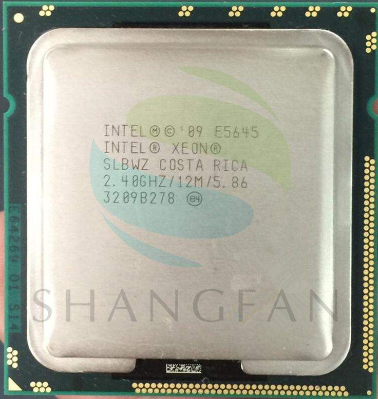 Free shippingIntel Xeon E5645 SLBWZ  Processor Six Core 2.40GHz 12M 5.86GT/s LGA 1366/SIX-Core/ server CPU