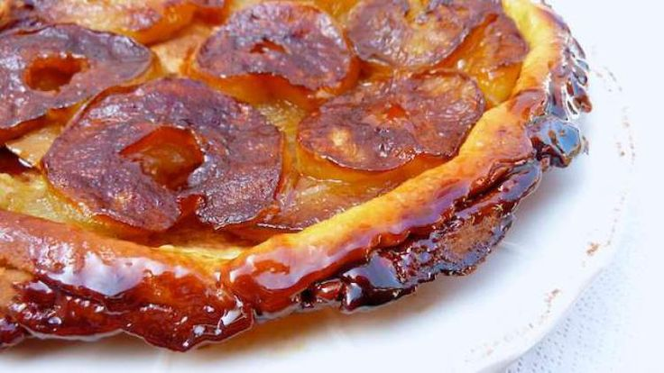 Tarte Tatin Recipe, a classic French apple dessert!