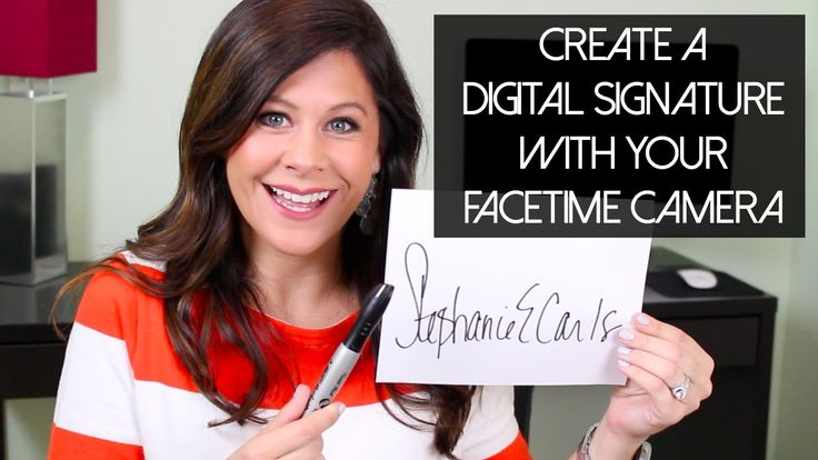 awesome How To: Create A Digital Signature Using FaceTime Check more at http://gadgetsnetworks.com/how-to-create-a-digital-signature-using-facetime/