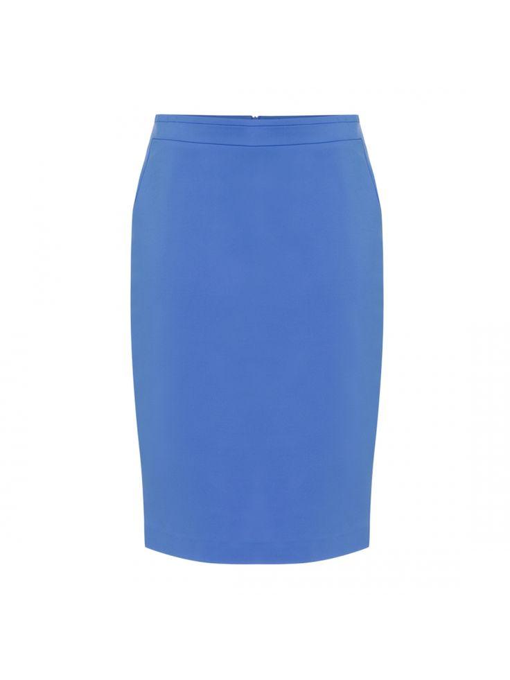 #light #blue #skirt #collection #trend #colour #spring #summer