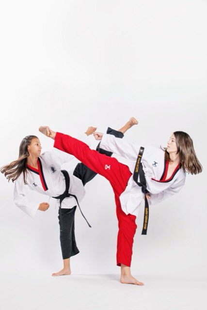 I kick like a girl. Find this Pin and more on Home of Champion Taekwondo ...