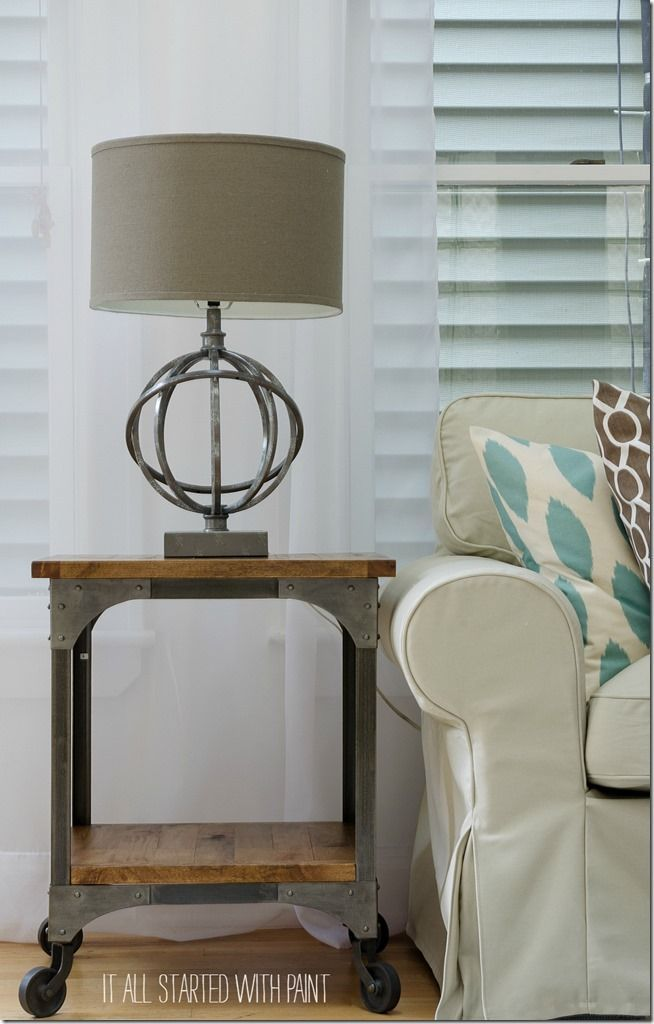 1000 ideas about side table lamps on side 62092