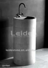 Stone pedestal sinks, Stone pedestal sinks direct from Huian Leide Stone Co., Ltd. in China (Mainland)