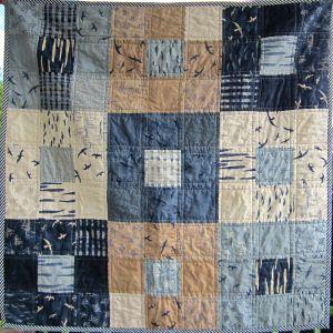 Ann Ferguson Quilts, Colour block quilty, moda fabric, Janet Clare, Charm Pack