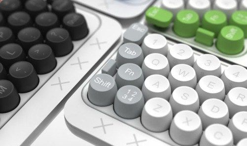 Details we like / Keyboard / Knobs / Grey / Green / Black / Consumer electronics /a t The Well