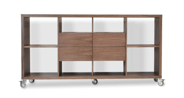 Malta Bookcase W Drawers | Modern sideboard, Furniture ...