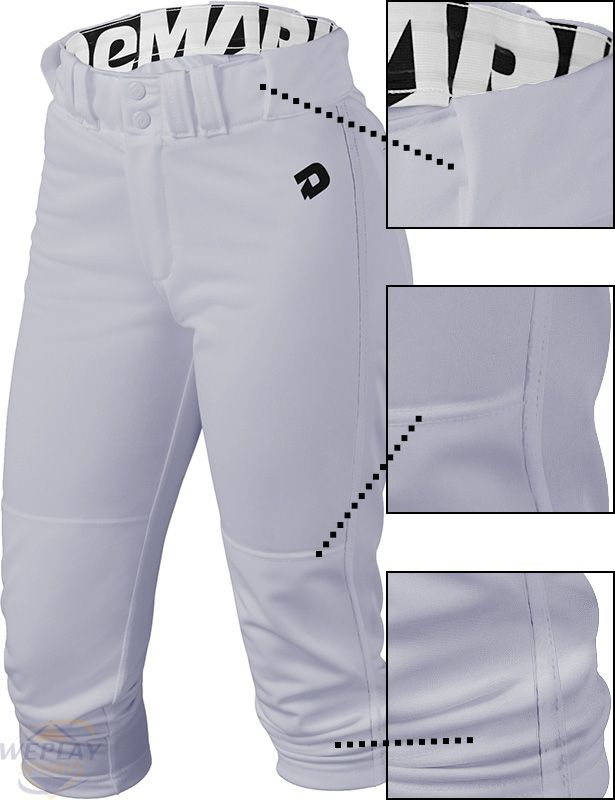 DeMarini ® Deluxe Womens Fastpitch Softball Pants