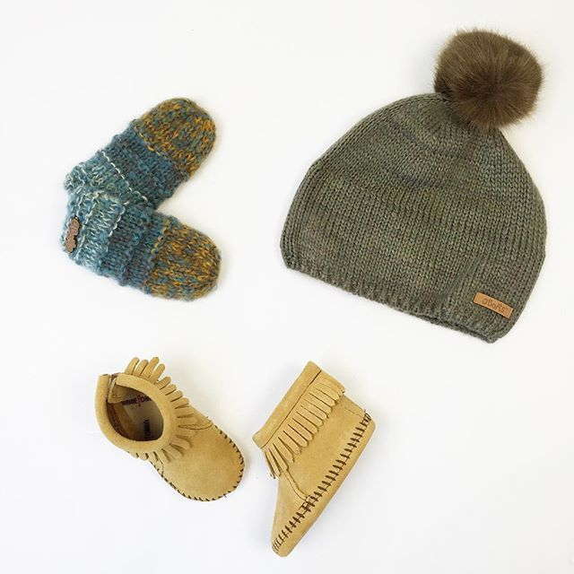 Winter weather is officially here (it's freeeezing here in Toronto today) but we have you covered - still have lots of warm hats and mitts i