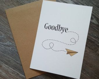 Pin By Ffi Tomlinson On Cards Farewell Cards Bon Voyage Cards