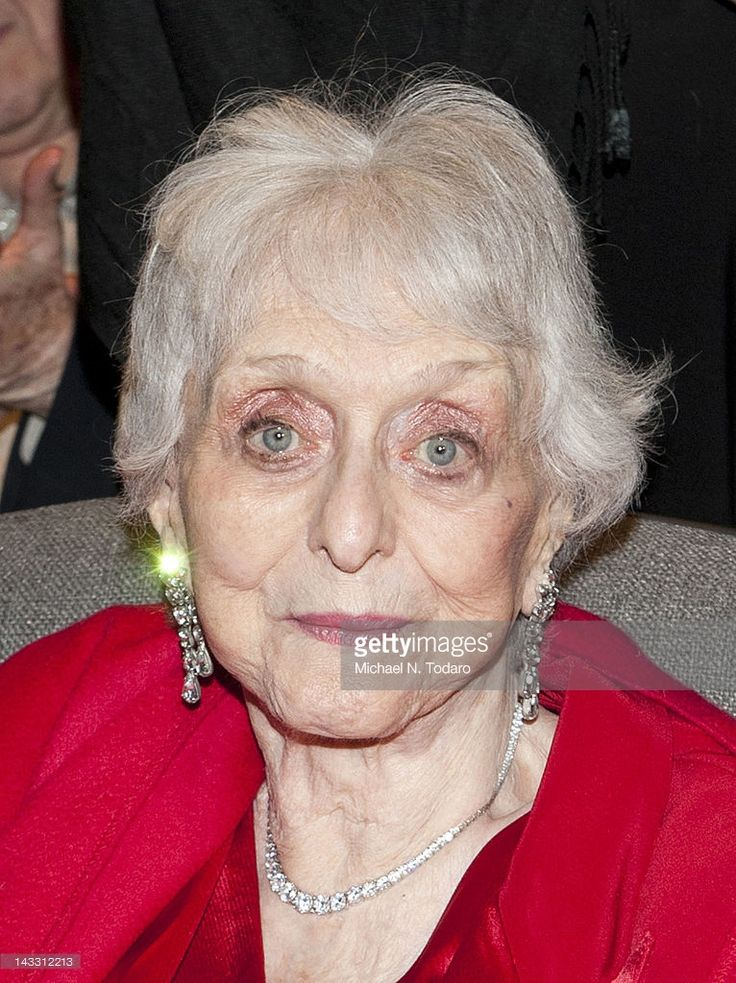 Celeste Holm attends The Academy of Motion Picture Arts And Sciences Celebrates The 65th Anniversary Of 'Gentleman's Agreement' at Lighthouse International Conference Center on April 23, 2012 in New York City.