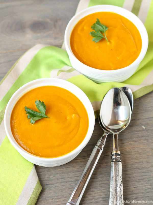 ... ideas about Carrot Ginger Soup on Pinterest | Soups, Figs and Carrots