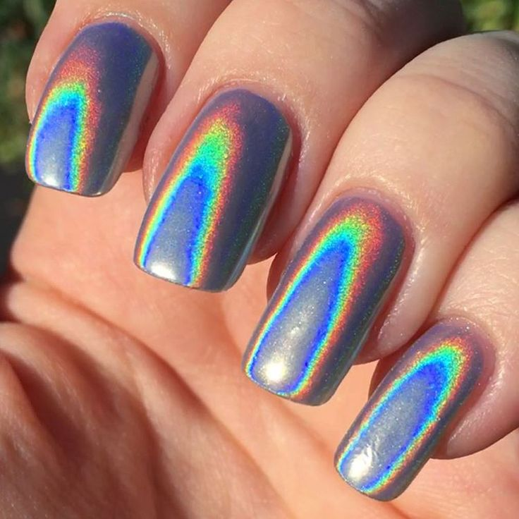 Extra Fine Holographic Chrome Nail Art Powder: 25+ Best Ideas About Holographic Nail Powder On Pinterest