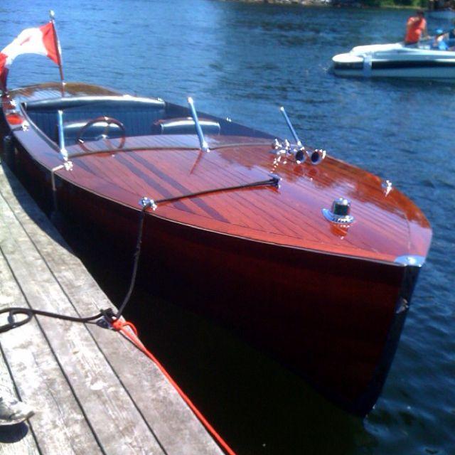 Classic Muskoka Boat