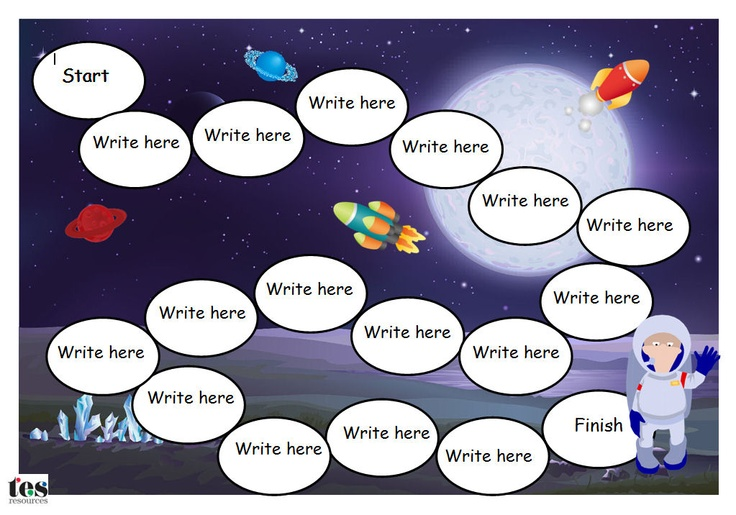 2 editable and adaptable A4 Word resources in .doc and .docx formats with a space theme. Use to create sight word or basic maths games. Comic Sans font which is editable.The board games will need the addition of dice and counters to play