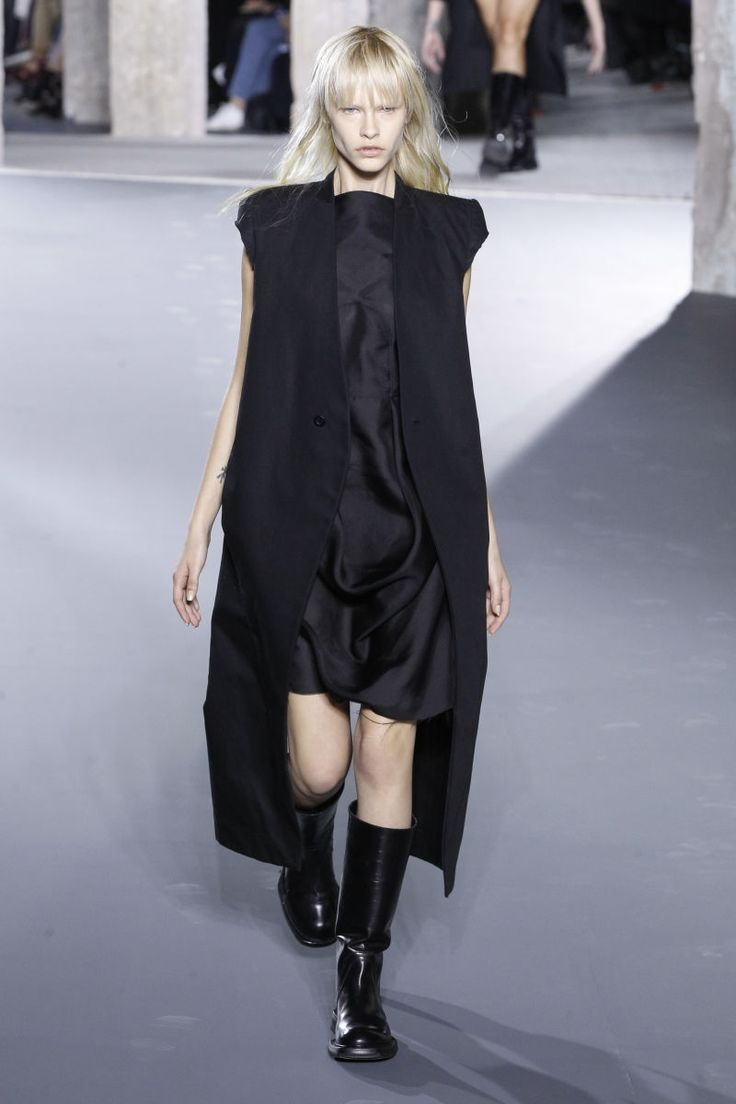 Sale Online Shopping Cotton SPHINX TUNIC Dress Spring/summer Rick Owens Fast Delivery Sale Online Clearance s8uXlcDr3l
