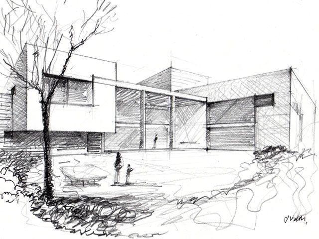 22 best dibujo arquitectonico images on pinterest for Dibujo arquitectonico
