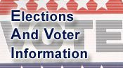 Elections and Voter Information ~ LAST day for Early Voting is in effect by mail, online or at the poll ~ March 4, 2014 Election Day.