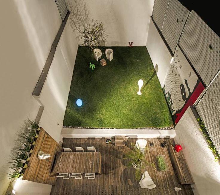 M s de 25 ideas incre bles sobre rejas para jardin en for Jardines pequenos con luces